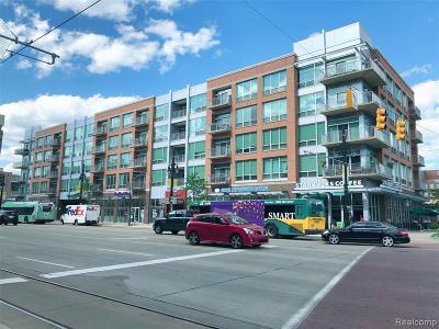 Detroit Condo/Townhouse For Sale: 3670 Woodward Avenue #411