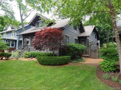 Birmingham Single Family Home For Sale: 839 Ridgedale Avenue