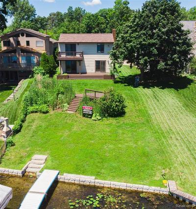 Single Family Home For Sale: 13417 Lake Shore Drive