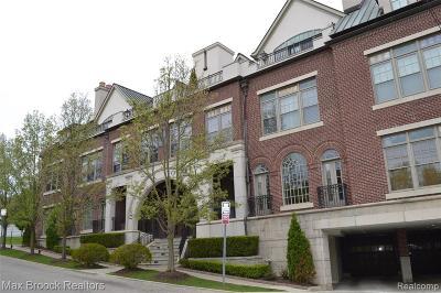 Birmingham MI Condo/Townhouse For Sale: $2,495,000