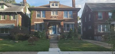 Detroit Single Family Home For Sale: 2011 Atkinson Street
