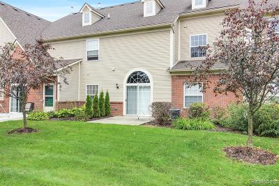 Shelby Twp Condo/Townhouse For Sale: 55499 Ambassador Court