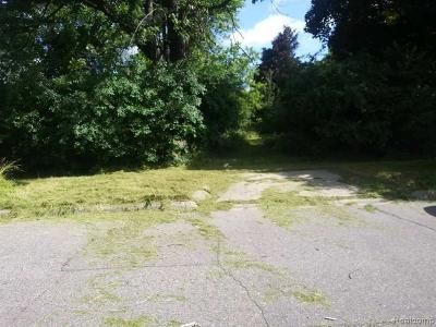 Macomb County, Oakland County, Wayne County Residential Lots & Land For Sale: 252 Rapid Street