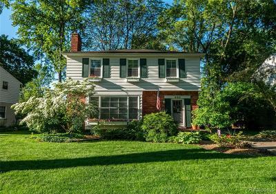 Birmingham Single Family Home For Sale: 950 Putney Street