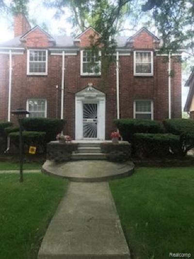 Detroit Single Family Home For Sale: 14574 Faust Avenue