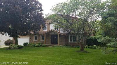 Bloomfield Twp MI Single Family Home For Sale: $564,900