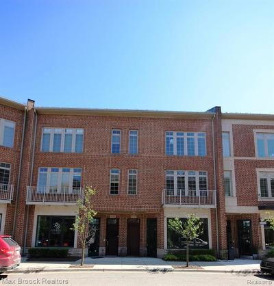 Birmingham Condo/Townhouse For Sale: 2020 Hazel Street #7