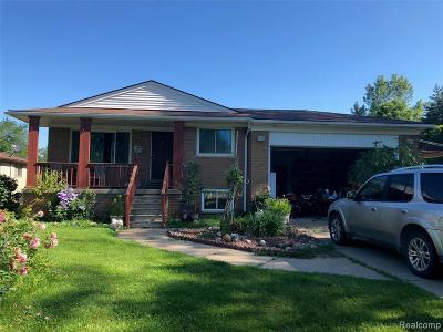 Washington Twp Single Family Home For Sale: 13799 31 Mile Road