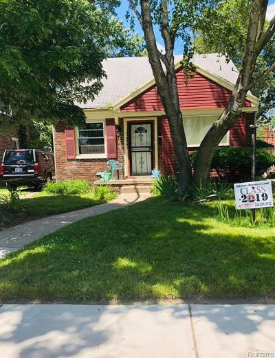 Detroit Single Family Home For Sale: 25239 Dale Greenview Avenue