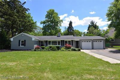 Beverly Hills Vlg Single Family Home For Sale: 16239 Marguerite Street