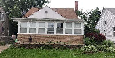 Lincoln Park Single Family Home For Sale: 1030 Farnham Avenue