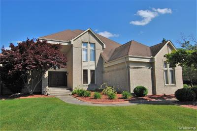 West Bloomfield Twp Single Family Home For Sale: 6791 Stonebridge Court