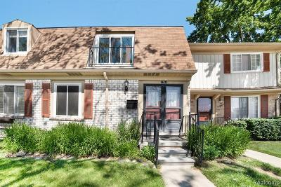 Royal Oak Condo/Townhouse For Sale: 1754 Wickham Street