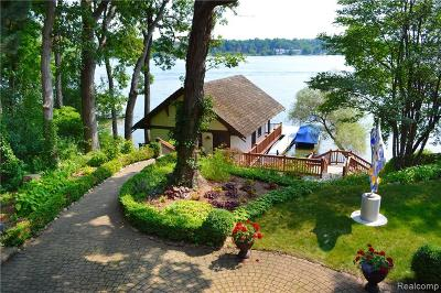 Orchard Lake Single Family Home For Sale: 3819 Laplaya Lane