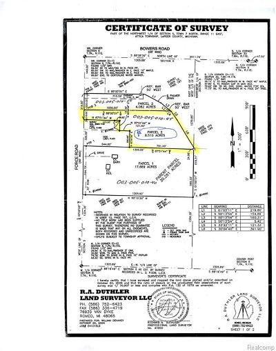 Residential Lots & Land For Sale: Parcel 2 N Force Road