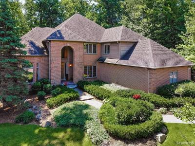 West Bloomfield Twp Single Family Home For Sale: 3498 Fox Woods Court