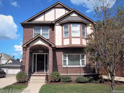 Birmingham Single Family Home For Sale: 1235 E Lincoln Street