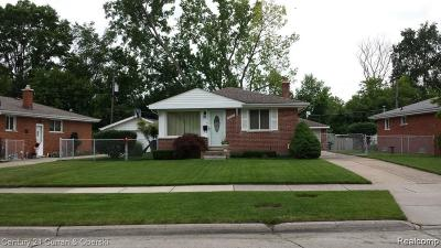 Dearborn Heights Single Family Home For Sale: 23227 Powers Avenue