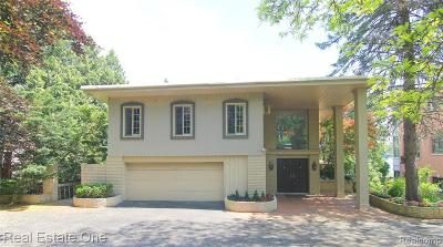 Orchard Lake Single Family Home For Sale: 3560 Wards Point