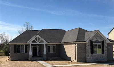 Oxford Single Family Home For Sale: 1405 Glass Lake Circle