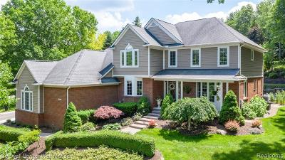 Milford Vlg MI Single Family Home For Sale: $499,900