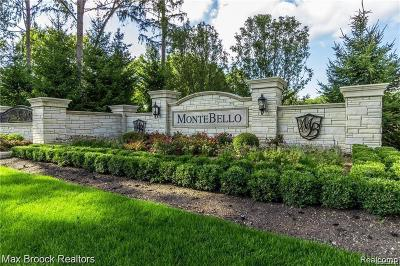 Novi Residential Lots & Land For Sale: 22435 Montebello Court