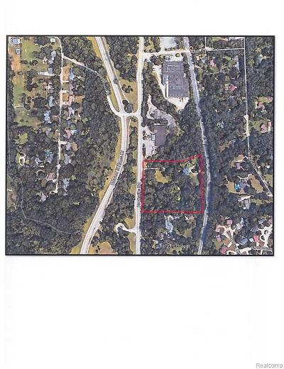 Plymouth Residential Lots & Land For Sale: 16240 Northville Rd