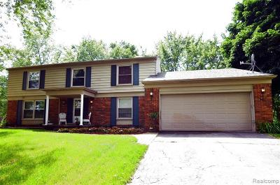 Bloomfield Twp Single Family Home For Sale: 2072 Stone Hollow Court