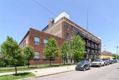 Detroit Condo/Townhouse For Sale: 444 W Willis Street #301
