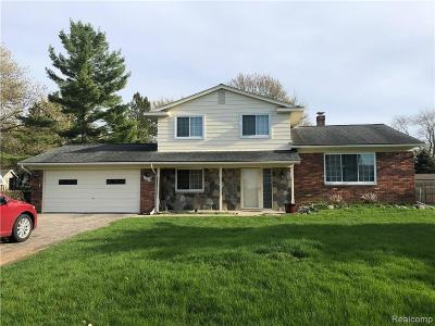 Commerce Twp Single Family Home For Sale: 8581 Golf Lane Drive