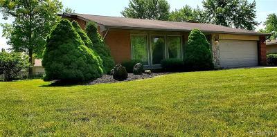 Livonia Single Family Home For Sale: 16852 Renwick Street