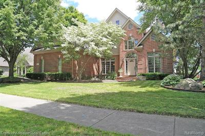 Shelby Twp Single Family Home For Sale: 48716 Red Oak Drive