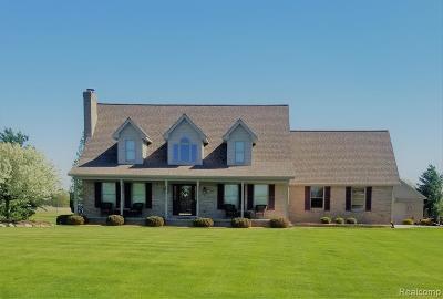 Armada Twp Single Family Home For Sale: 21320 McPhall Road