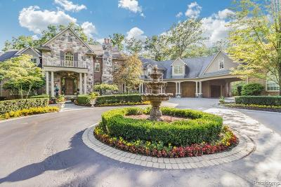Bloomfield Twp Single Family Home For Sale: 1515 Lone Pine Road