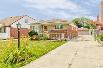 Dearborn Heights Single Family Home For Sale: 6527 Drexel Street