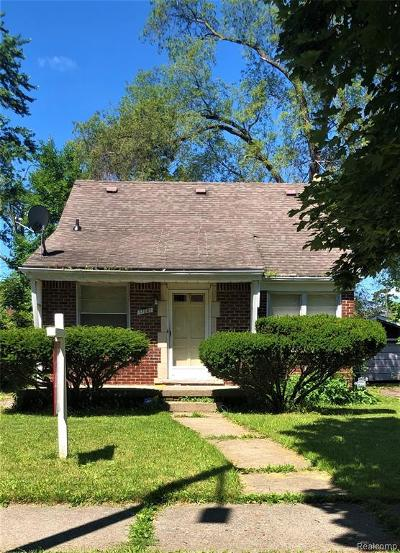 Detroit Single Family Home For Sale: 17221 Warwick Street