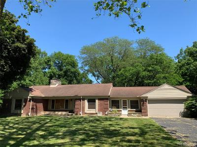 Dearborn Single Family Home For Sale: 6818 Riverside Drive