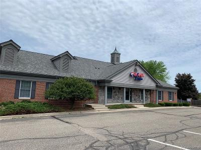 Independence Twp Commercial Lease For Lease: 8040 Ortonville Road #A