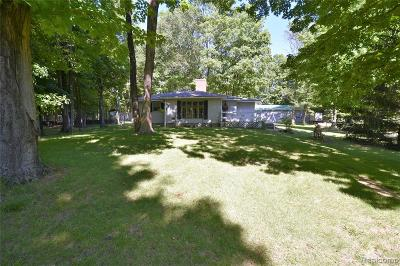 Single Family Home For Sale: 3664 W Hamilton Road