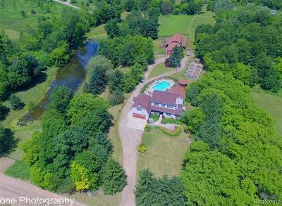 Livingston County Single Family Home For Sale: 2881 E Jones Road