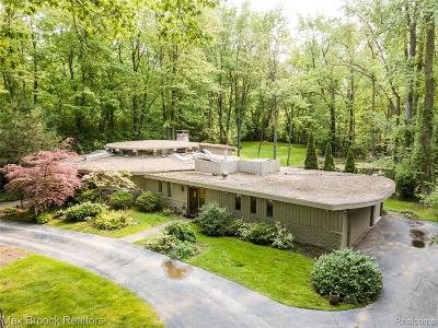 Bloomfield Twp Single Family Home For Sale: 5505 Forman Drive