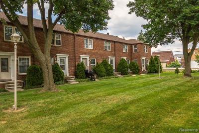 Dearborn Condo/Townhouse For Sale: 4600 Firestone Street #14