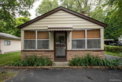 Southfield Single Family Home For Sale: 21389 Duns Scotus Street