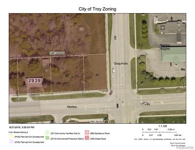 Troy Residential Lots & Land For Sale: Wattles Road