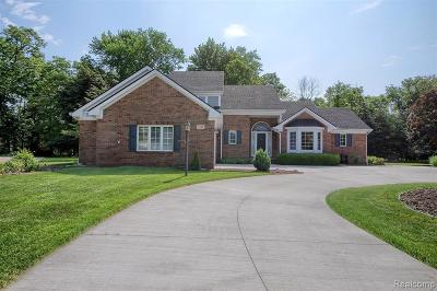 Allen Park, Lincoln Park, Southgate, Wyandotte, Taylor, Riverview, Brownstown Twp, Trenton, Woodhaven, Rockwood, Flat Rock, Grosse Ile Twp, Dearborn, Gibraltar Single Family Home For Sale: 7728 Oak River Drive
