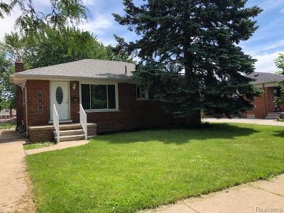 Trenton Single Family Home For Sale: 2629 Grange Road
