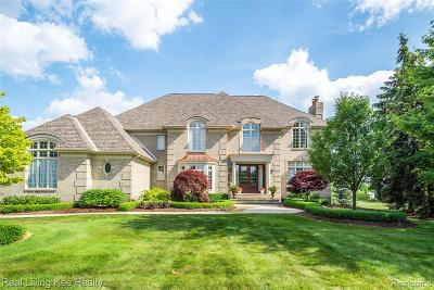 Oakland Twp Single Family Home For Sale: 2675 Shorebrook Court