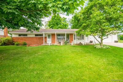 Novi Single Family Home For Sale: 23779 E Le Bost
