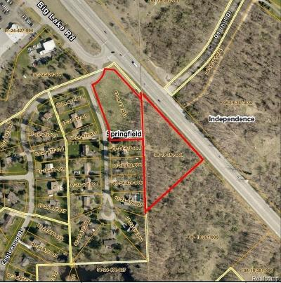Commercial Lots & Land For Sale: V/L Dixie Highway