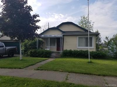 Pontiac Single Family Home For Sale: 116 W Brooklyn Avenue